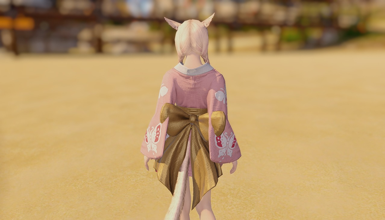 桃蝶姫君浴衣背面
