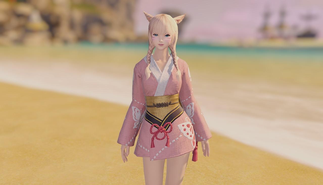 桃蝶姫君浴衣