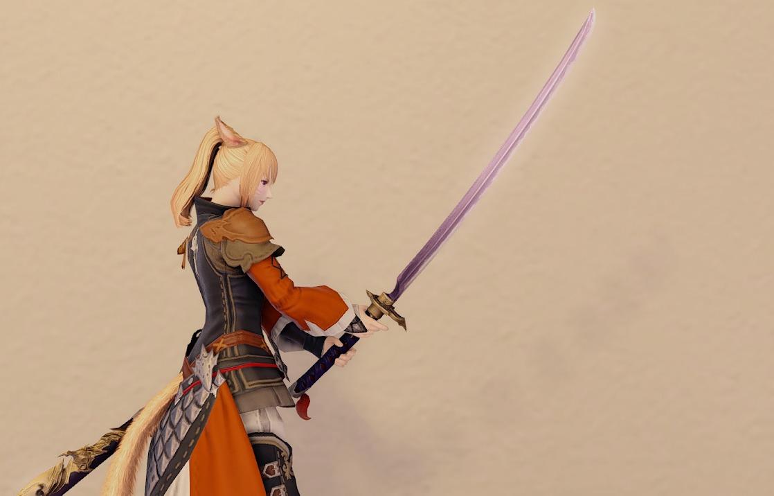 エアリーモンク侍装備侍武器合わせ