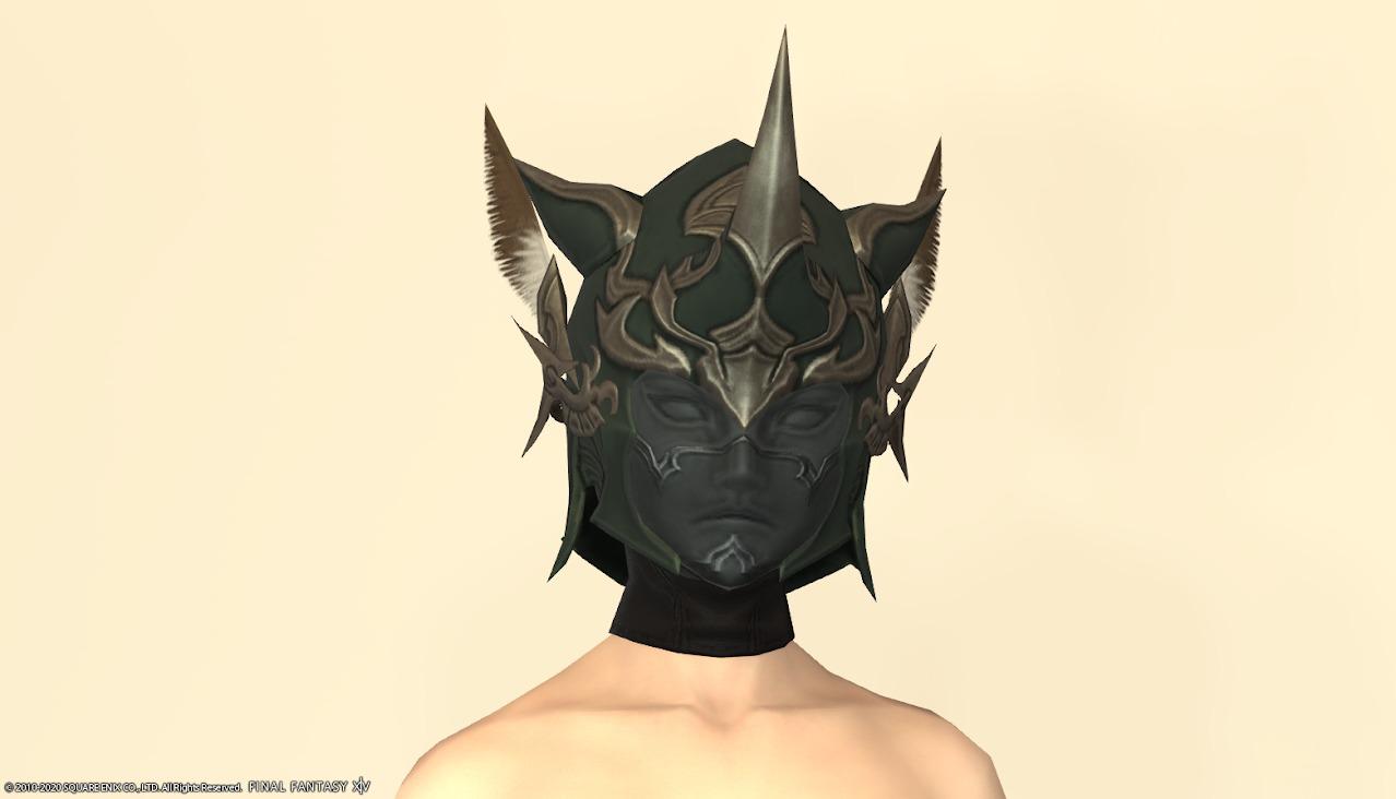 オシュオンレンジャー装備頭マスクあり