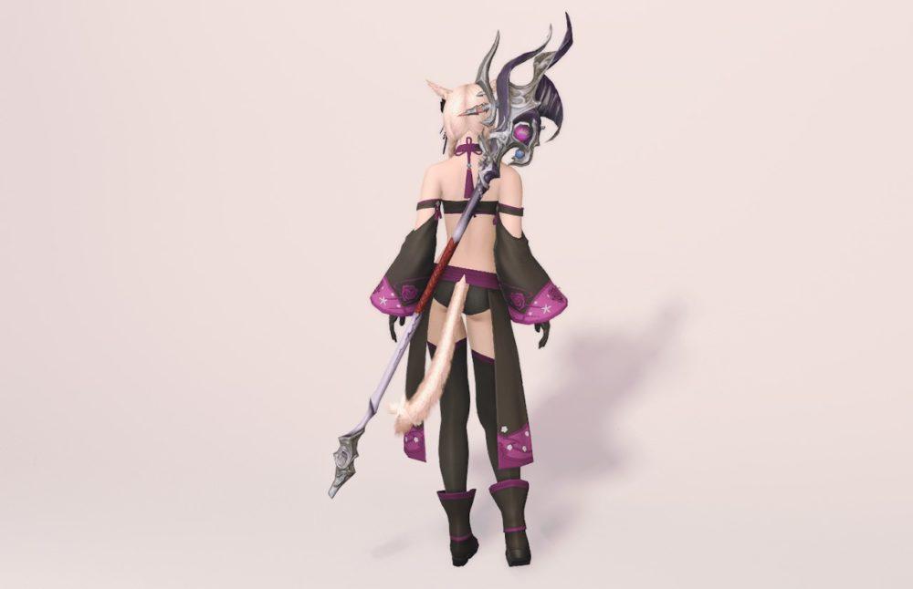 紫水宮キャス黒魔道士武器合わせ