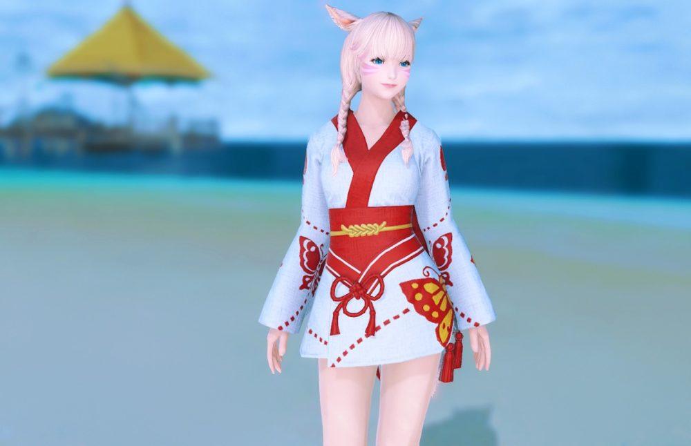 紅蝶姫君浴衣