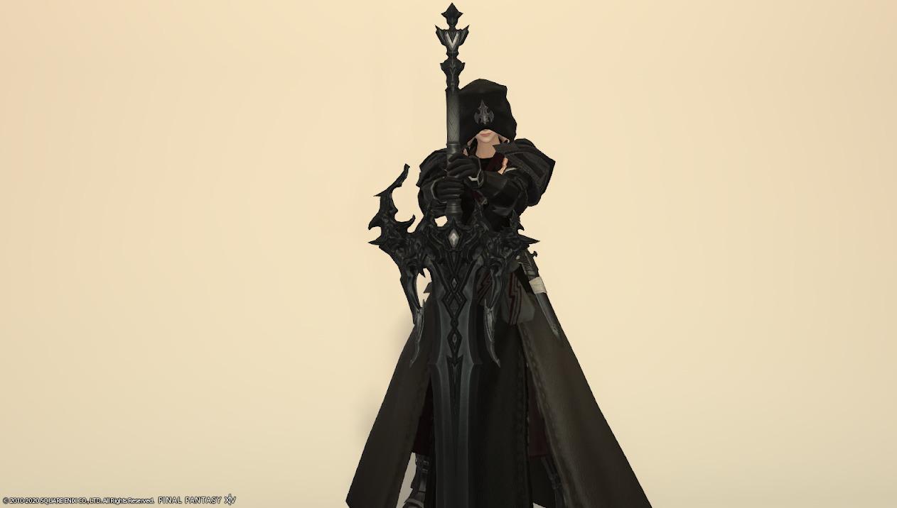 レイクランドディフェンダー暗黒騎士武器合わせ抜刀ポーズ