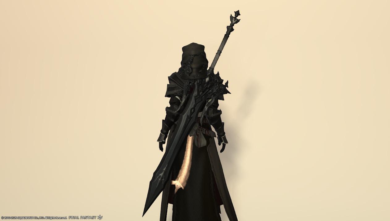 レイクランドディフェンダー暗黒騎士武器合わせ