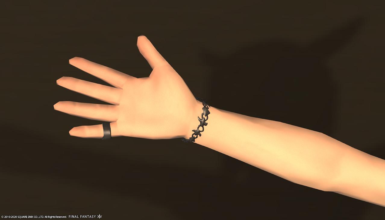 黒魔道士AF4左手