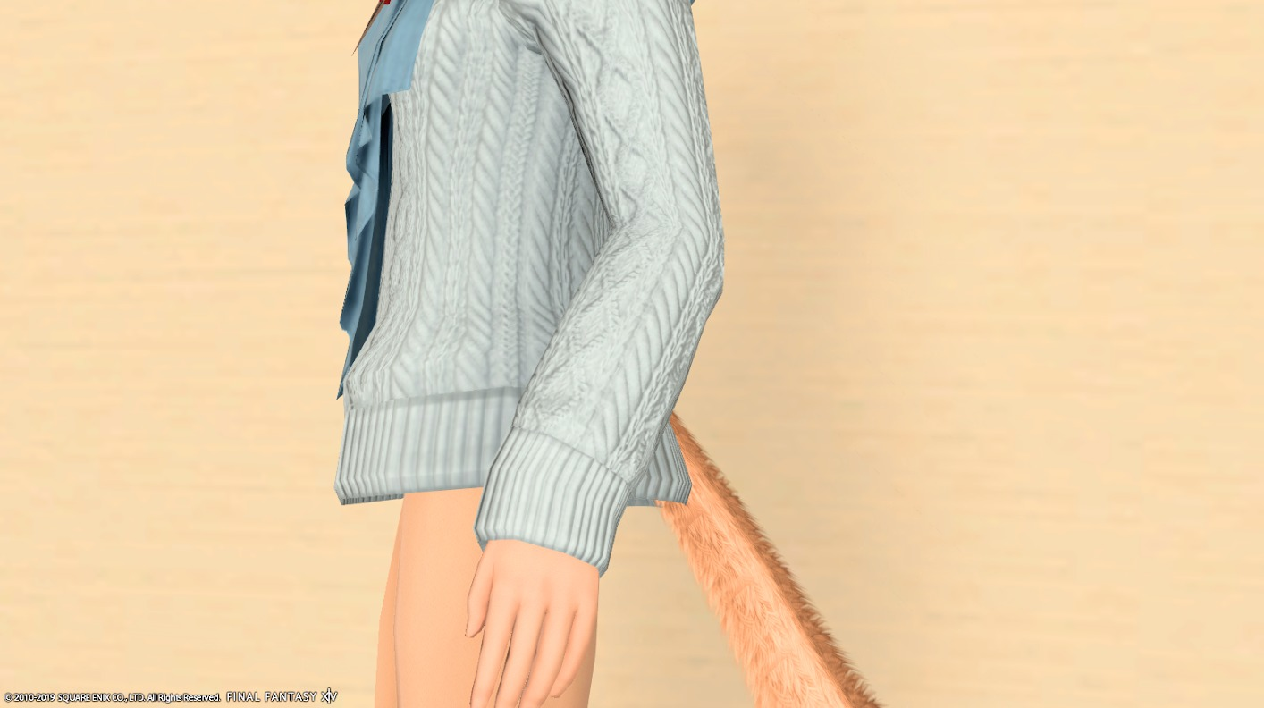 アドベンチャラーセーター袖口