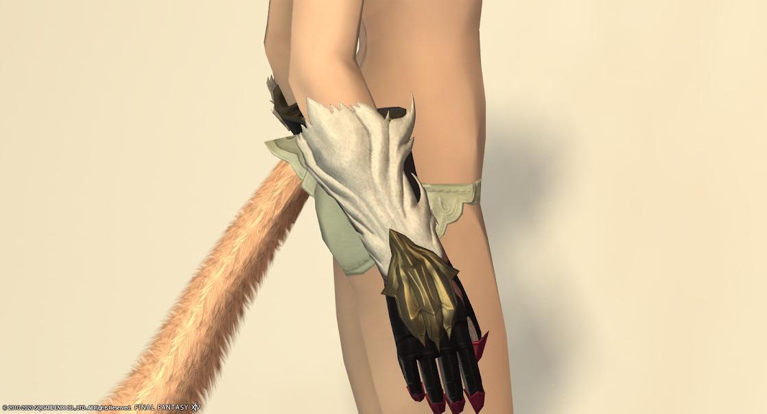 白狐装備手