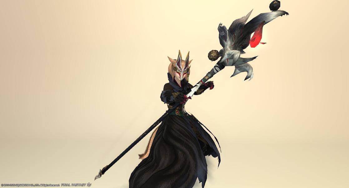 黒狐装備黒武器合わせ抜刀