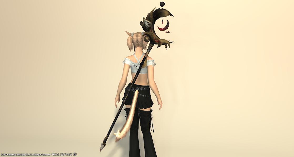 黒狐黒武器アルドゴートブラウン納刀