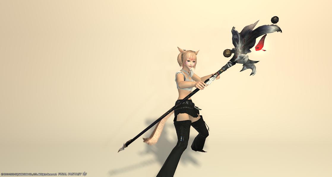 黒狐黒武器抜刀