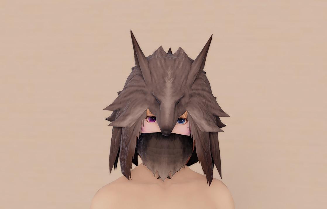 ソームアルレンジ頭マスクあり