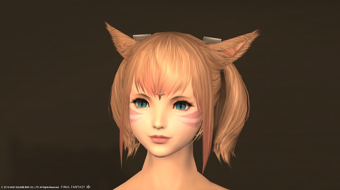 ナタ姫君頭ロータノブルー前髪あり