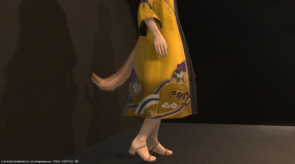 風雅衣装セット胴裾アップ