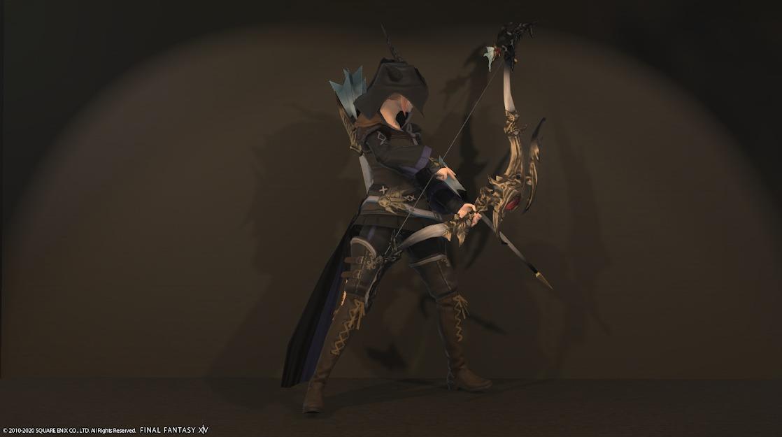 ドラゴンズエアリーレンジ装備詩人武器合わせ抜刀サイド