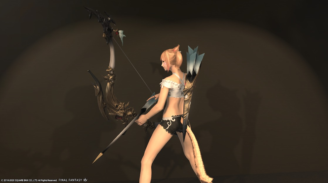 ドラゴンズエアリーレンジ装備詩人武器抜刀サイド