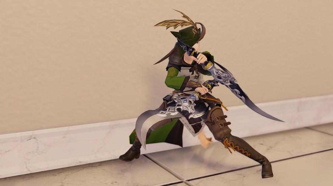 ドラゴンズエアリー忍者装備忍者武器合わせ