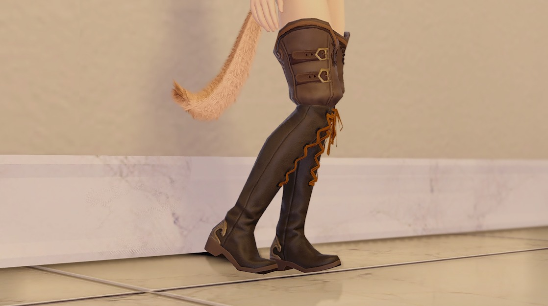 ドラゴンズエアリー忍者装備足サイド