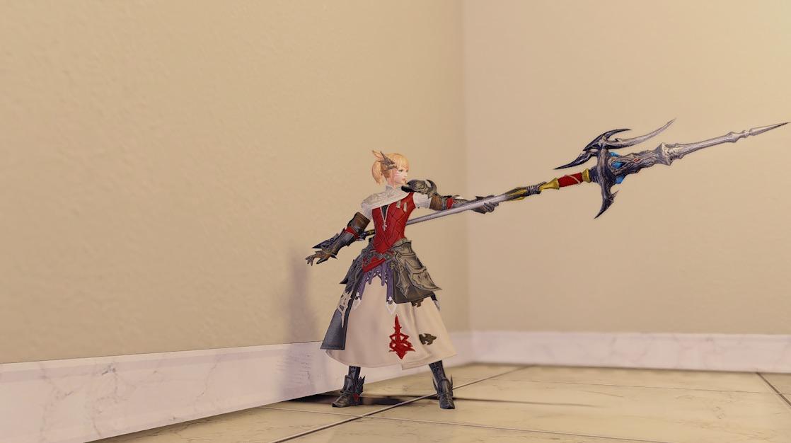 ドラゴンズエアリー竜装備竜騎士武器合わせ抜刀
