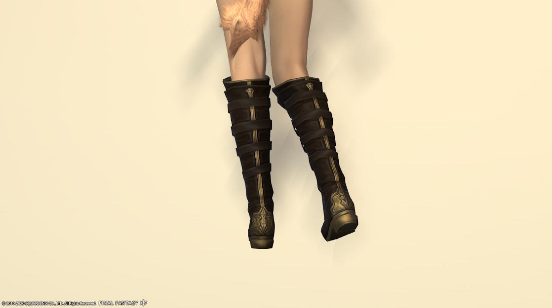 ヒラ新式足背面