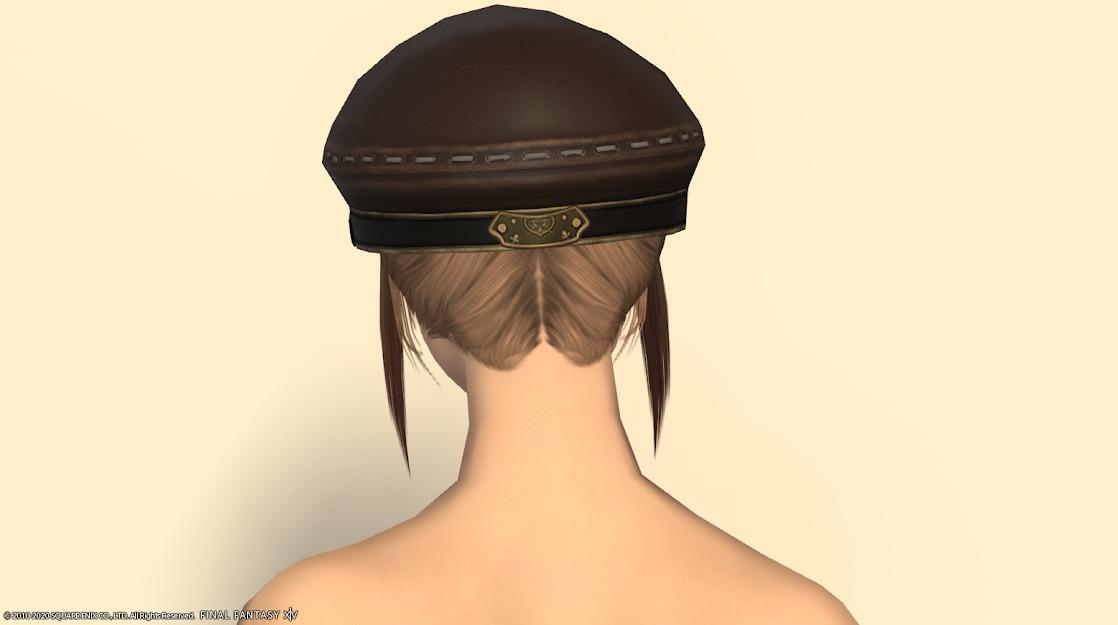 ヒラ新式頭背面