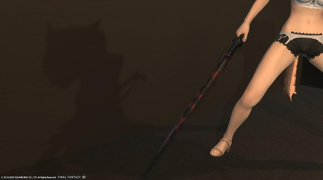 赤鬼ナイト武器剣の太さ