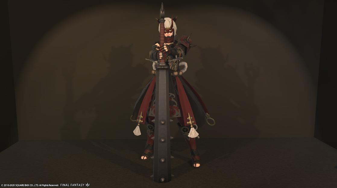 赤鬼装備暗黒騎士武器合わせ