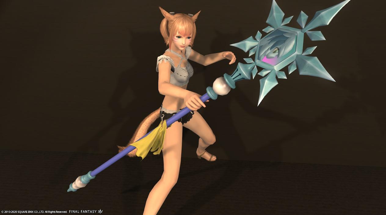 雪姫の杖抜刀