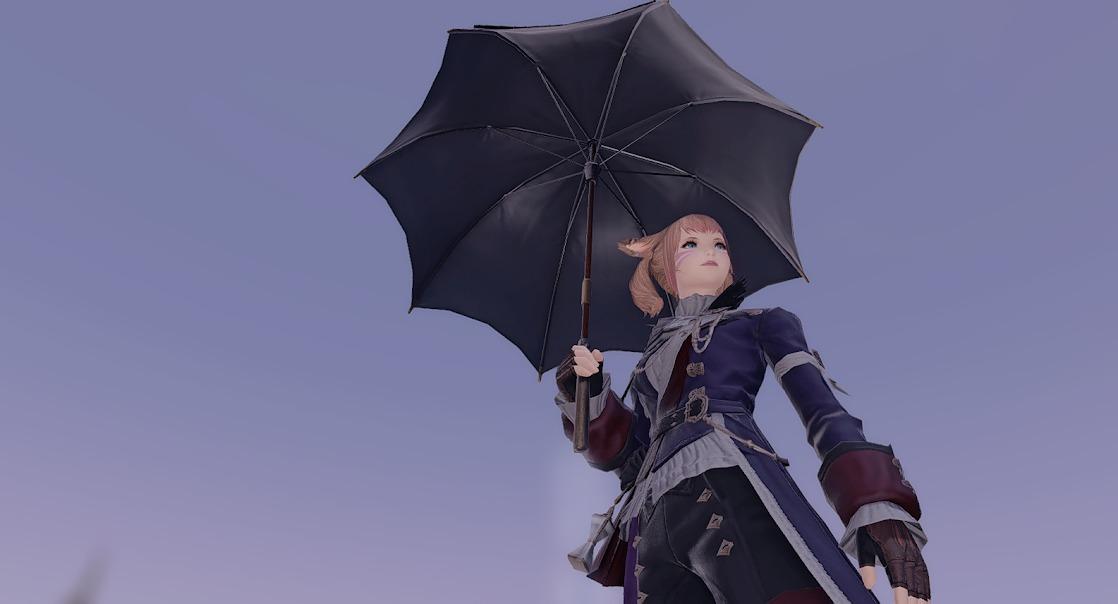 パラソル傘の中身