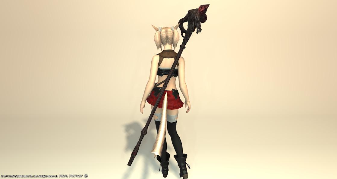 ルビー黒武器納刀