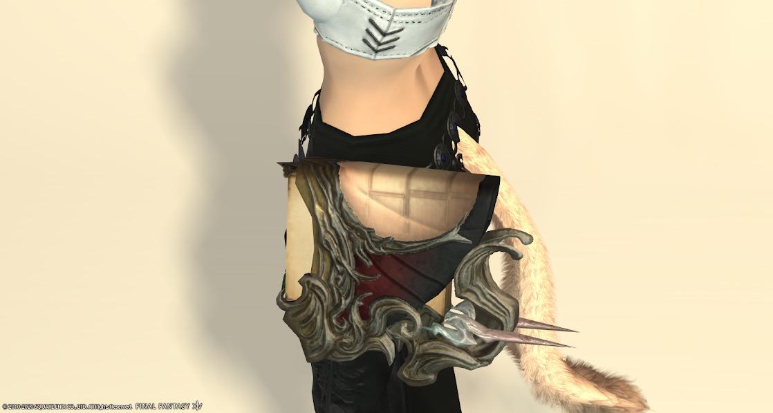 黒狐召喚武器アルドゴートブラウン納刀