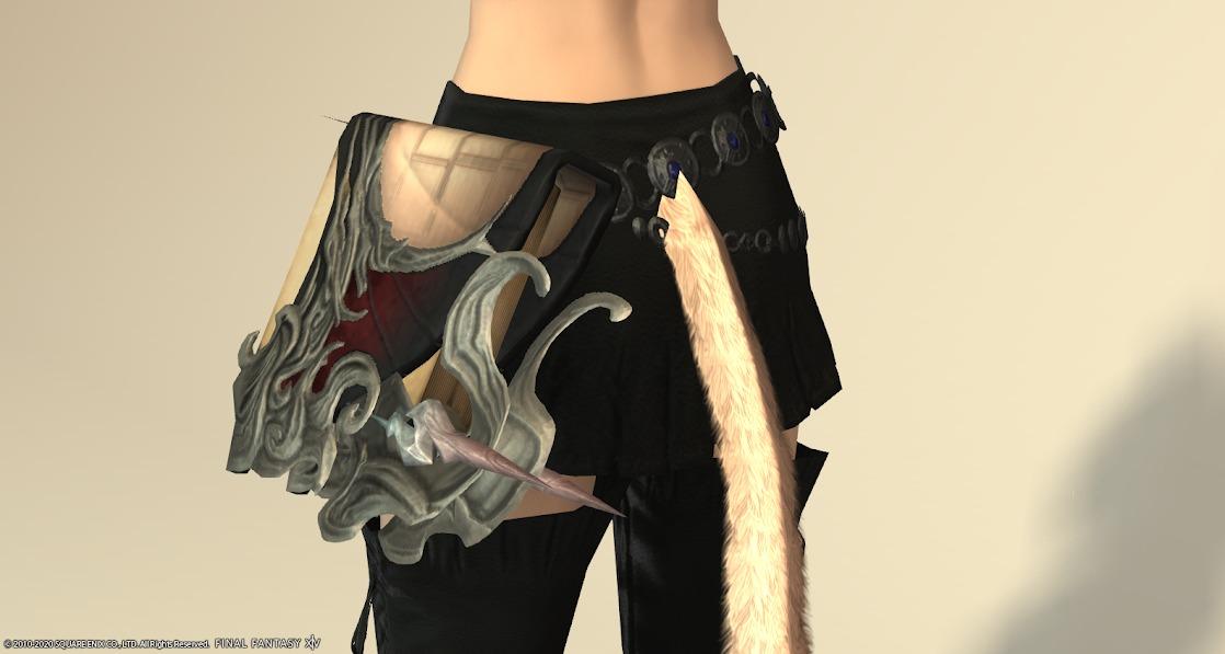 黒狐召喚武器納刀