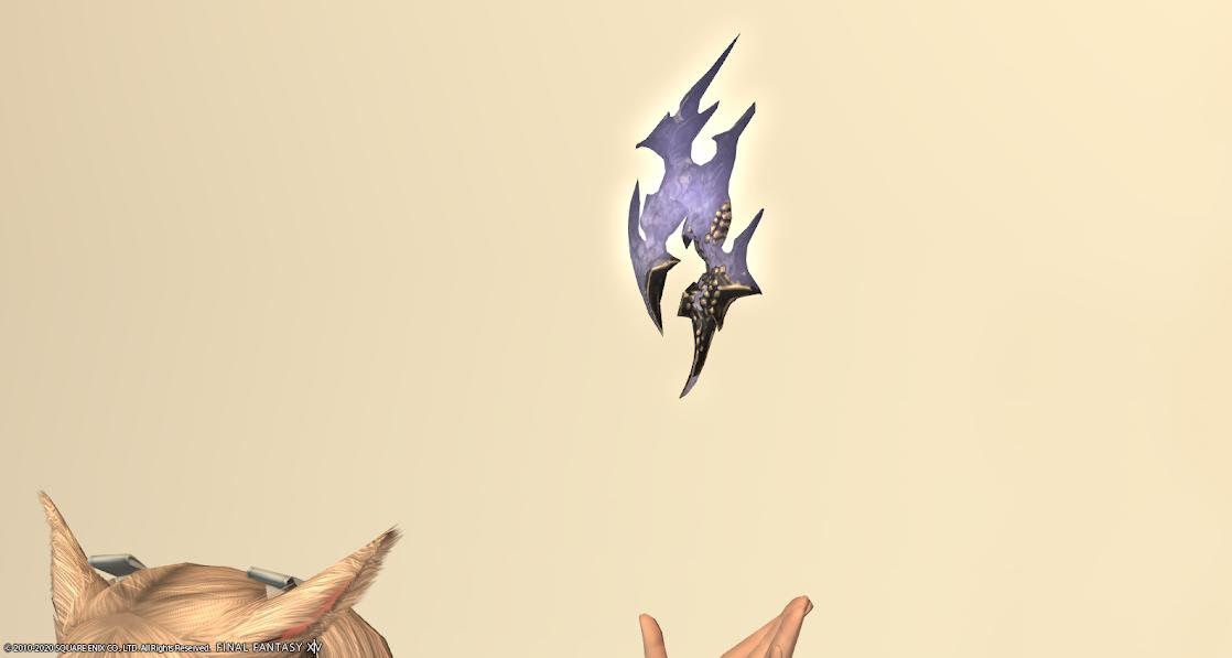 黒狐赤武器ラベンダーブルー狐火