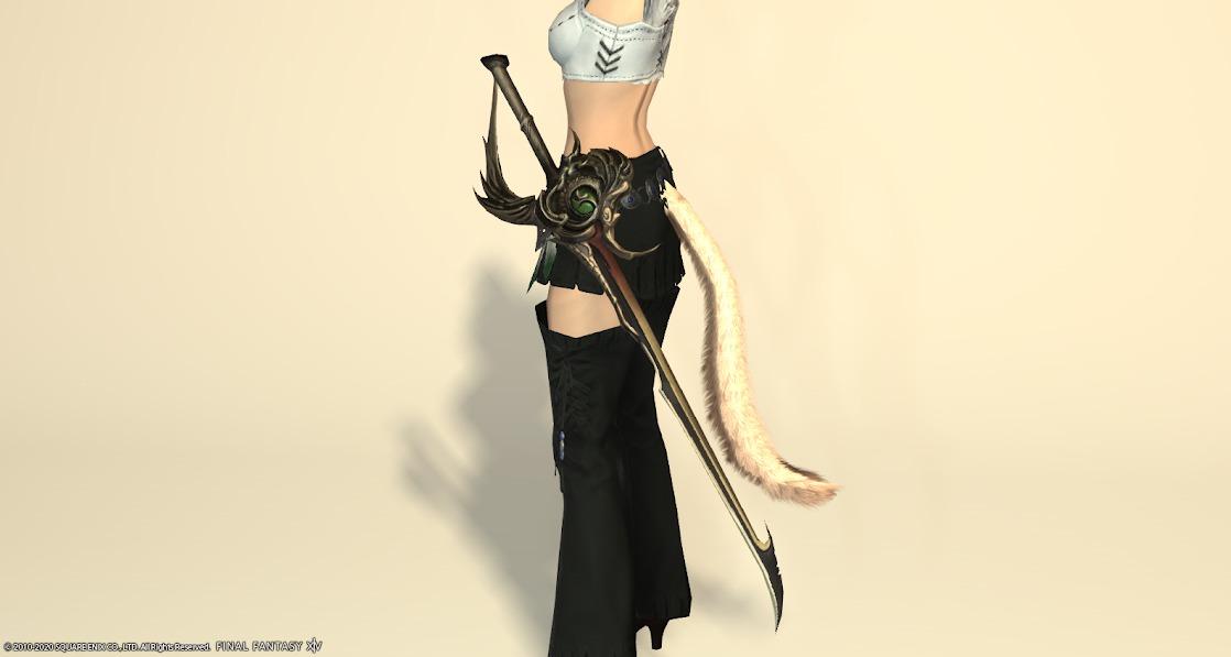 黒狐赤武器