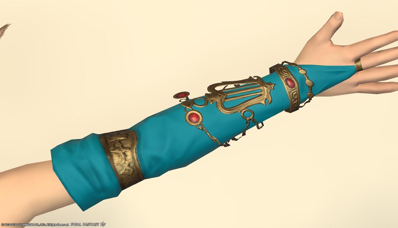 アイディアルダンサー装備右手ターコイズブルー