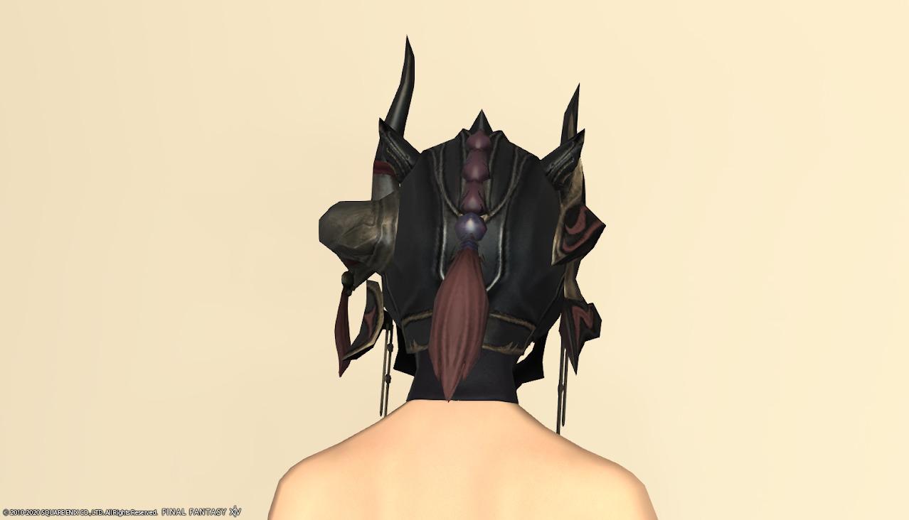 アイディアルベイル頭背面