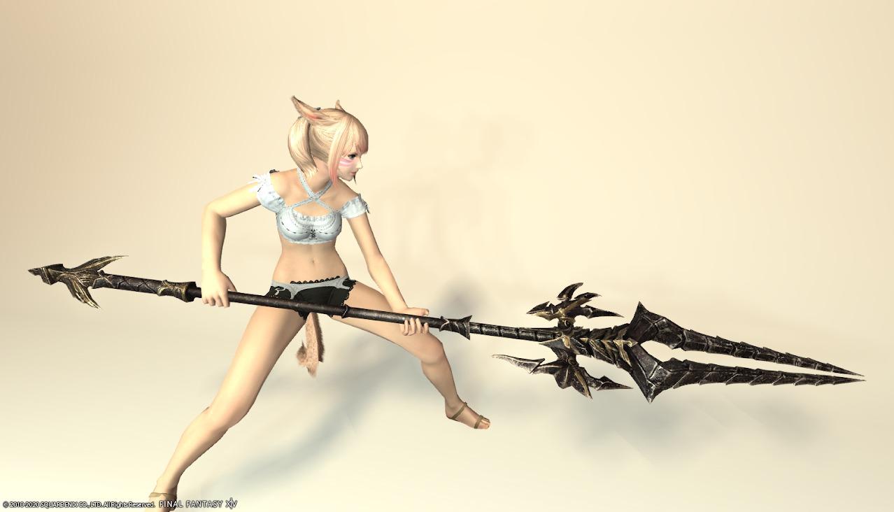 エデンコーラス竜騎士武器抜刀