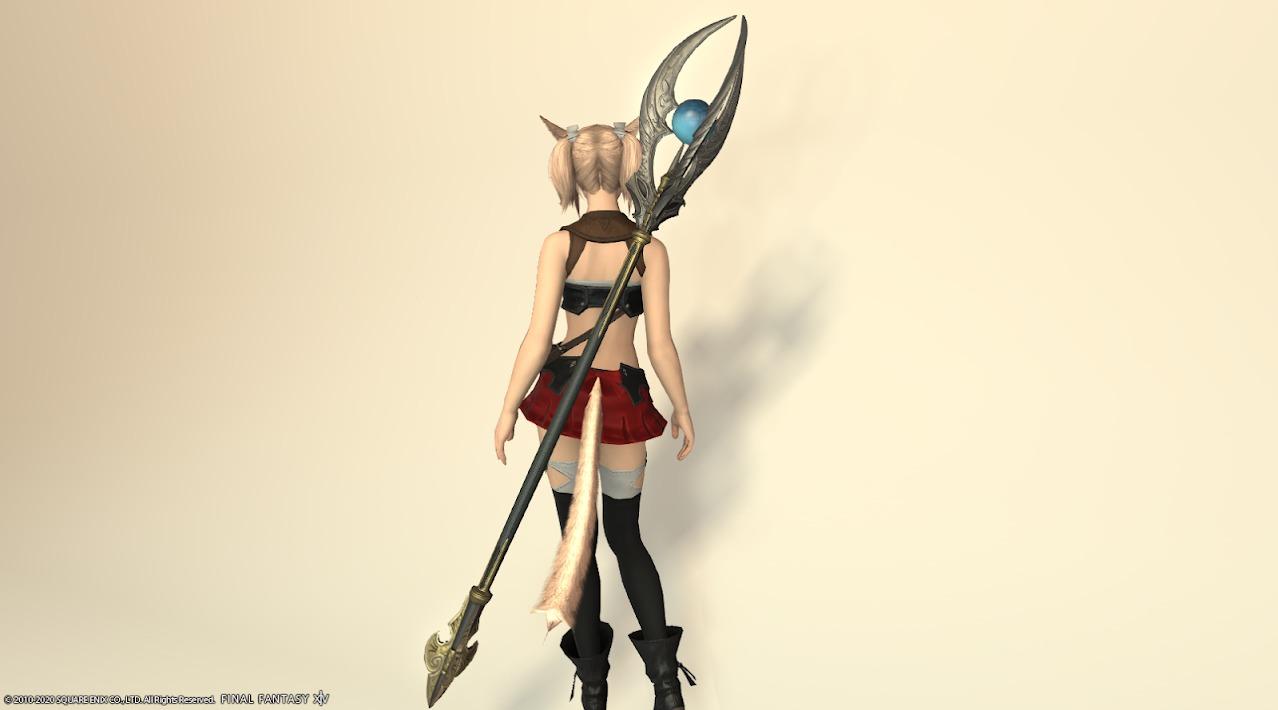 サリャクキャスター装備黒武器