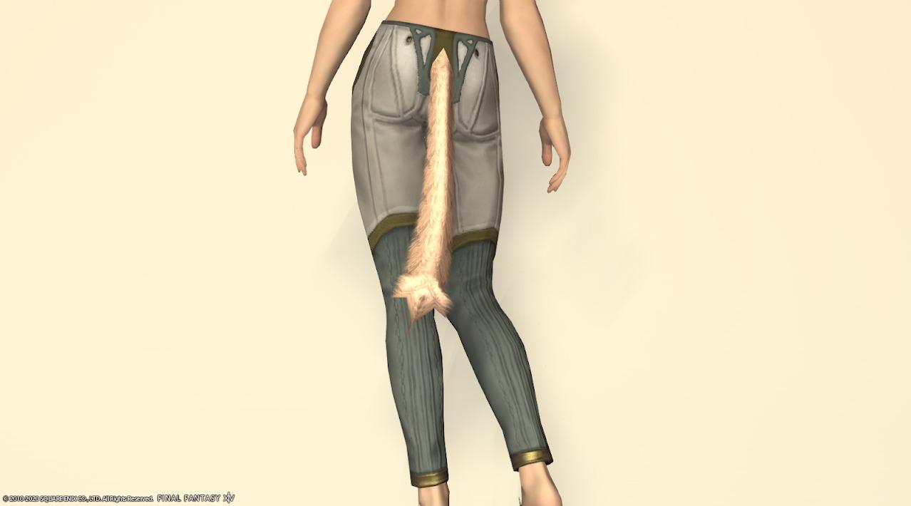 ハルオーネスレイヤー装備脚背面