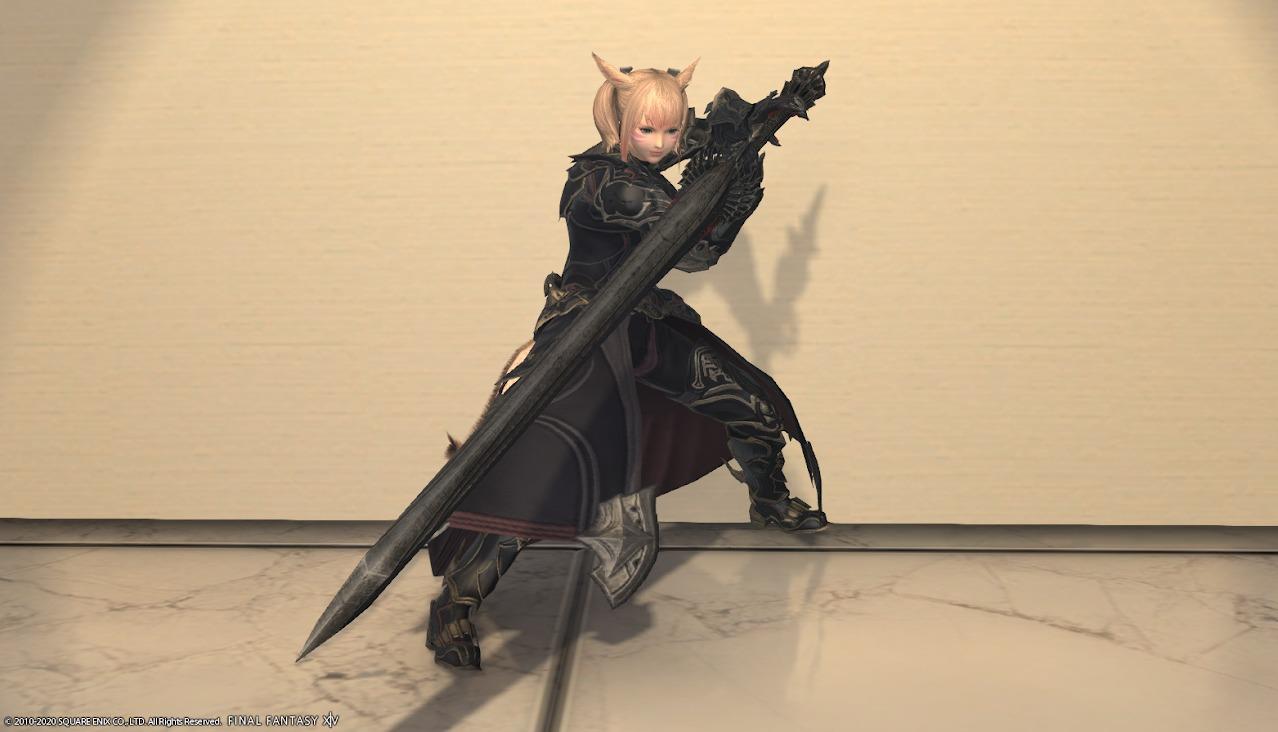 暗黒騎士AF4・AF4武器合わせ抜刀