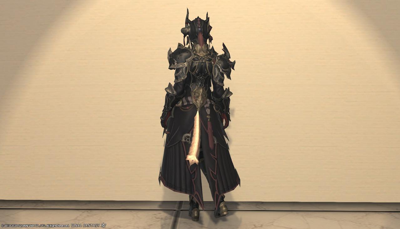 暗黒騎士AF4全身背面
