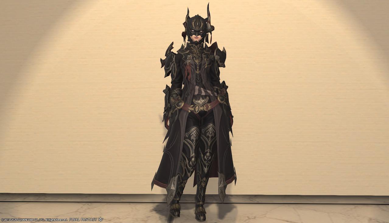 暗黒騎士AF4全身
