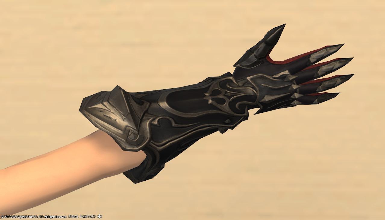 暗黒騎士AF4右手