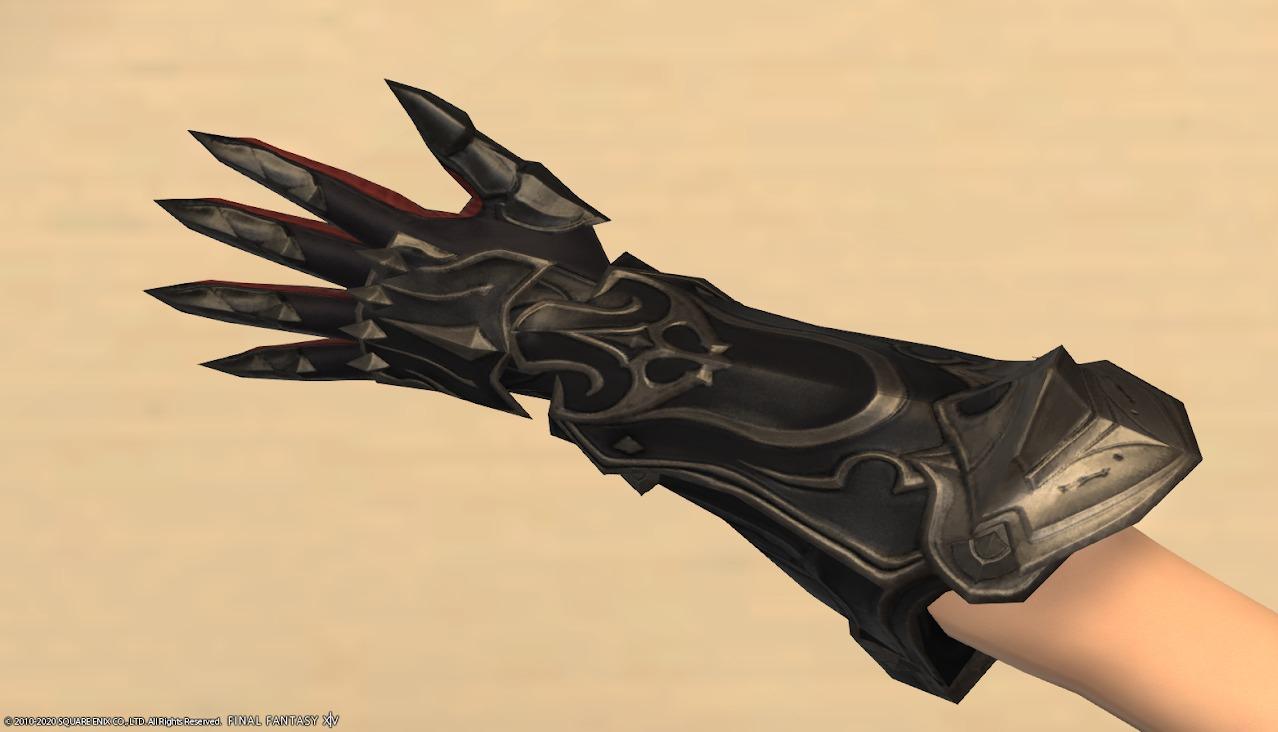 暗黒騎士AF4左手