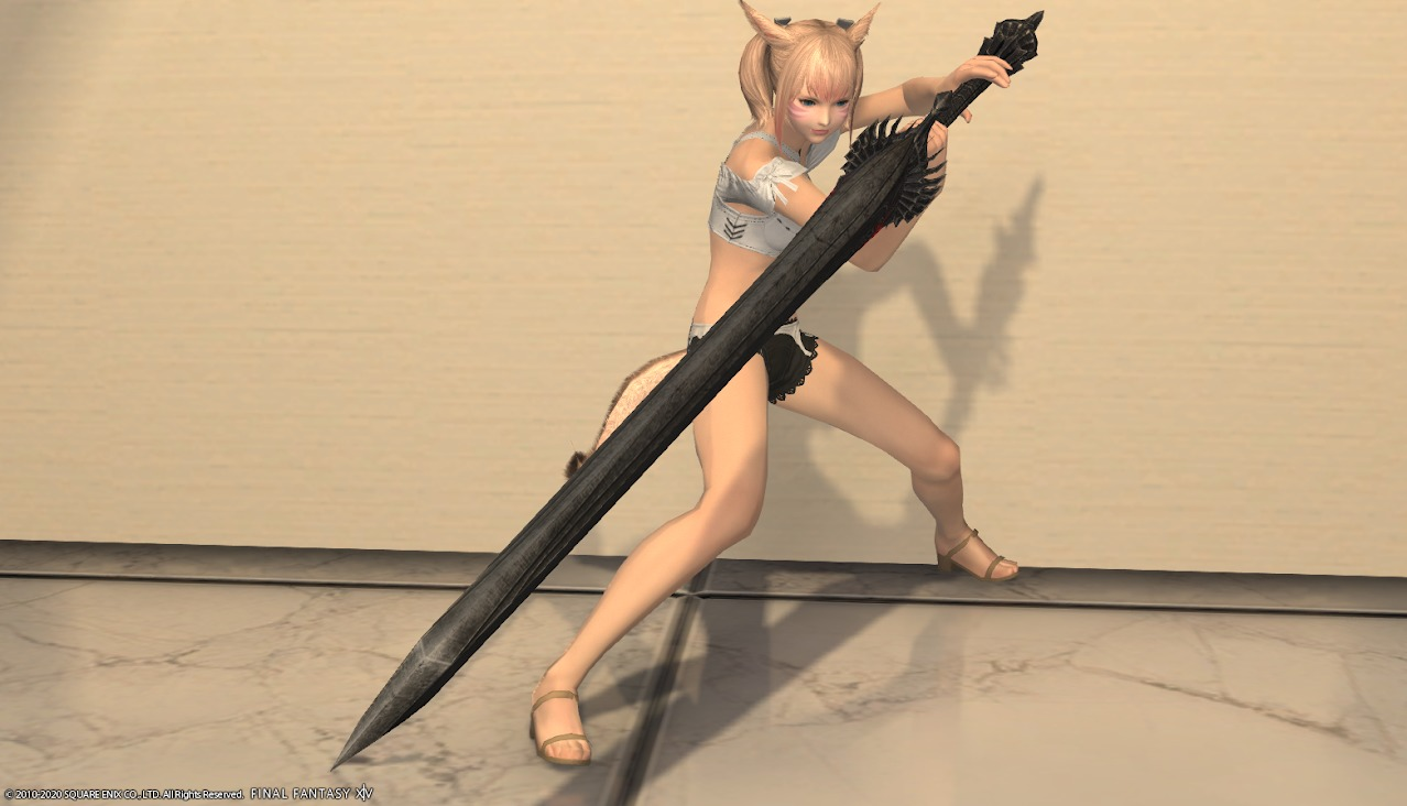 暗黒騎士AF4武器抜刀