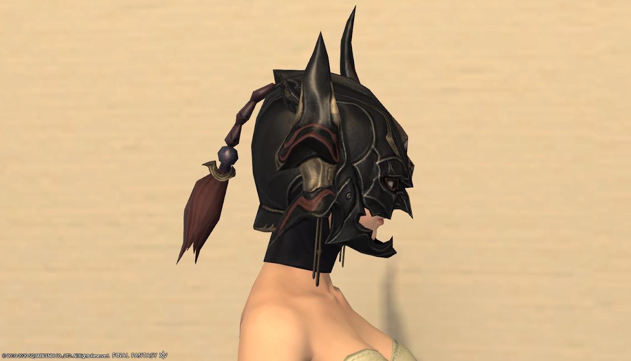 暗黒騎士AF4頭サイド