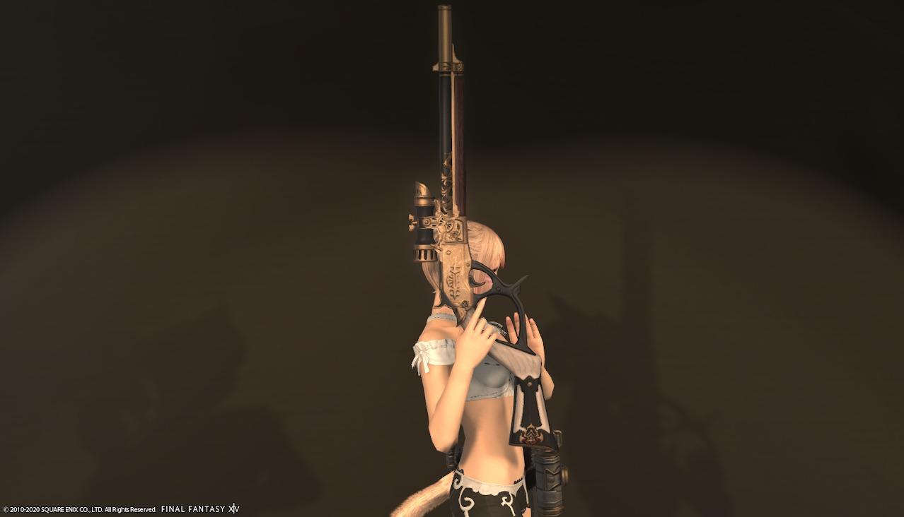 機工士AF4武器抜刀正面
