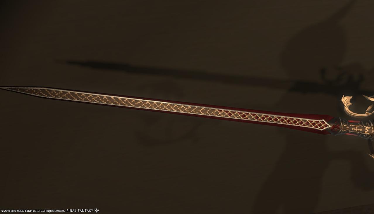 赤魔道士AF4武器剣アップ