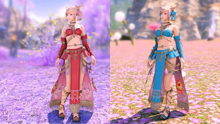 踊り子AF4カラー比較