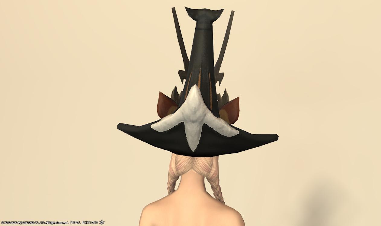 エルクテイル頭背面