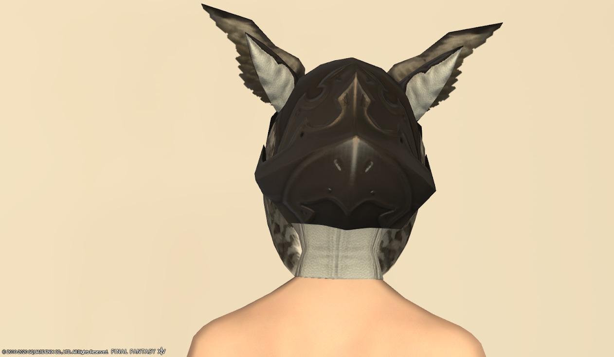 オウルサイト頭背面